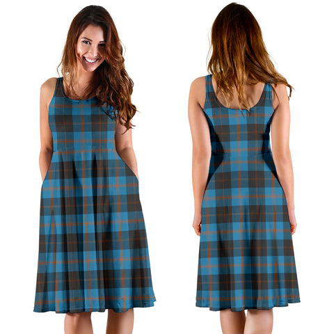 Image of Angus Ancient Plaid Women's Dress