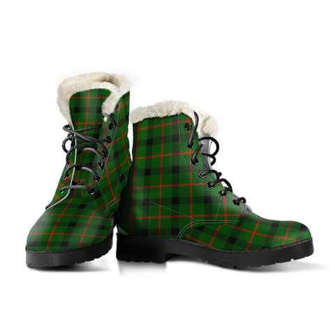 Image of Kincaid Modern Tartan Boots For Women