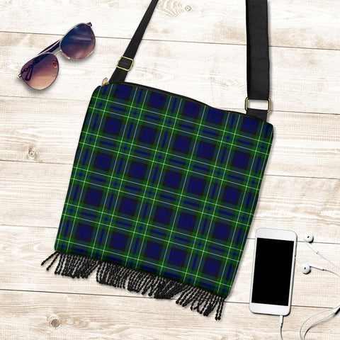 Image of MacNeil of Colonsay Modern Tartan Boho Handbag K7