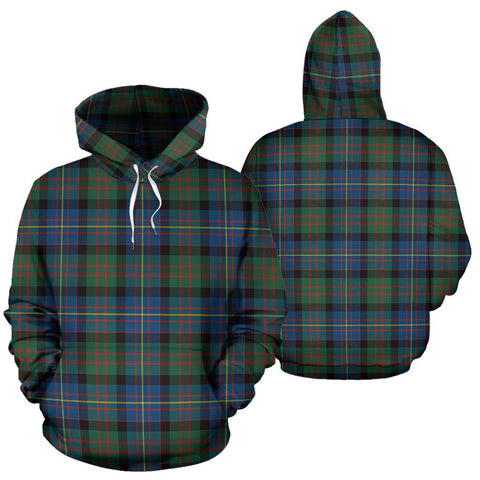Cameron Of Erracht Ancient Tartan Hoodie, Scottish Cameron Of Erracht Ancient Plaid Pullover Hoodie