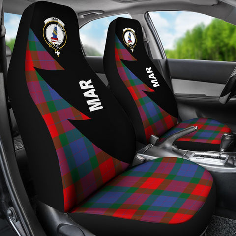 Image of Mar Clans Tartan Car Seat Covers - Flash Style - BN
