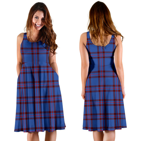 Elliot Modern Plaid Women's Dress