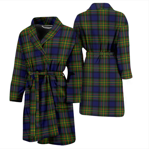 Image of MacLaren Modern Tartan Mens Bathrobe - BN