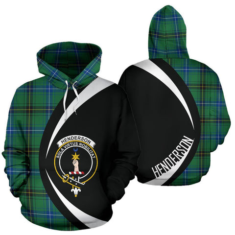 Image of Henderson Ancient Tartan Circle Hoodie HJ4