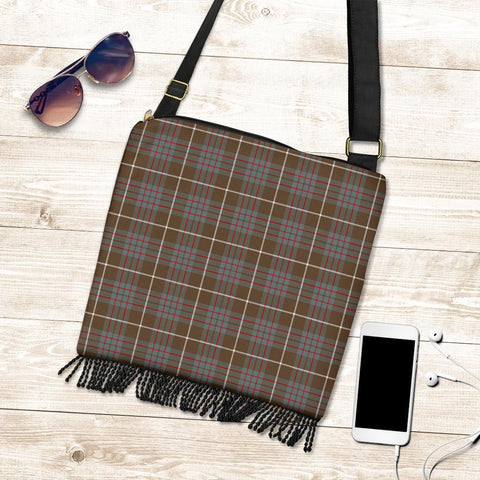 Image of MacIntyre Hunting Weathered Tartan Boho Handbag K7