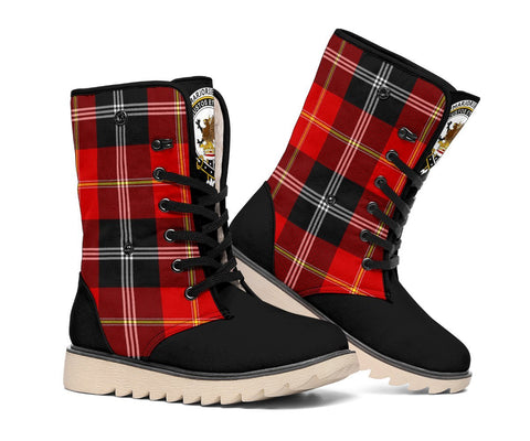 Image of Tartan Women's Snow Boots - Clan Marjoribanks Boots - BN