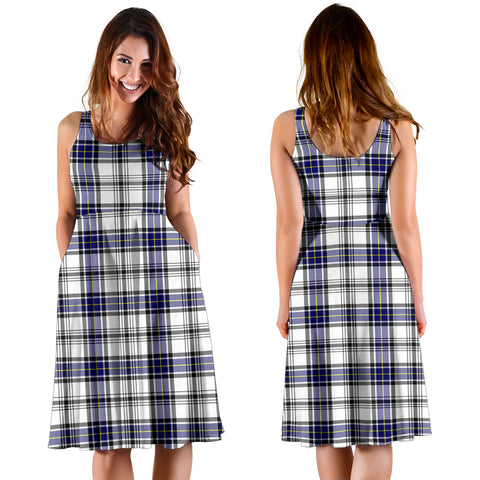 Hannay Modern Plaid Women's Dress