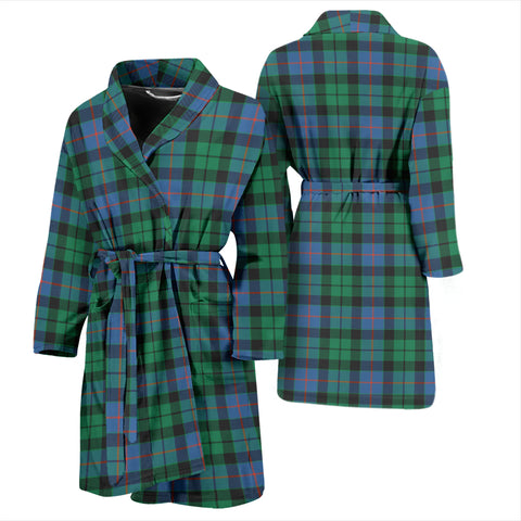 Morrison Ancient Tartan Mens Bathrobe - BN