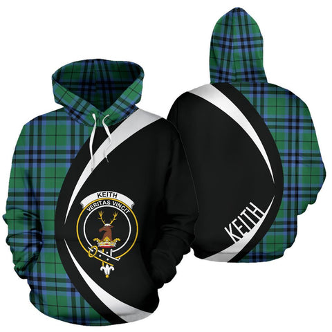 Keith Ancient Tartan Circle Hoodie HJ4