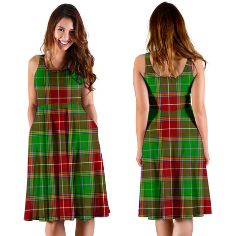 Baxter Modern Plaid Women's Dress