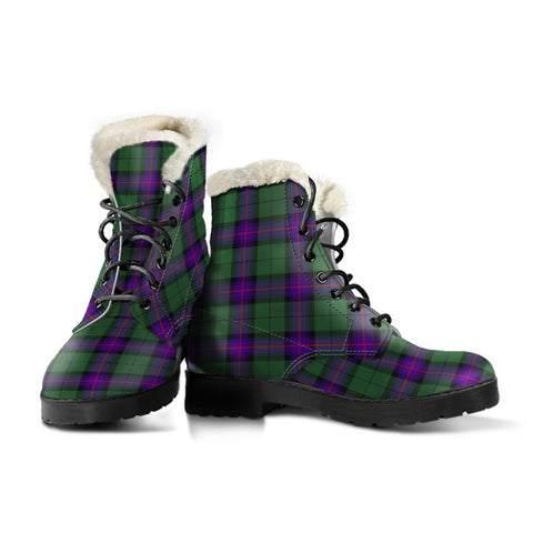 Image of Armstrong Modern Tartan Boots For Women