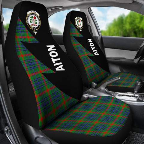 Aiton Clans Tartan Car Seat Covers - Flash Style - BN