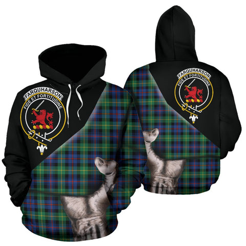 Image of Farquharson Ancient Tartan Hoodie Patronage