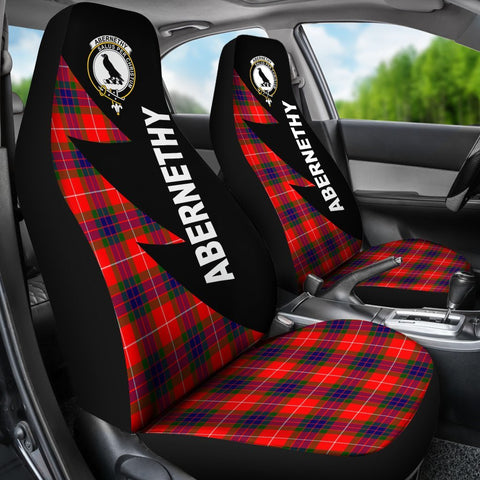 Abernethy Clans Tartan Car Seat Covers - Flash Style - BN