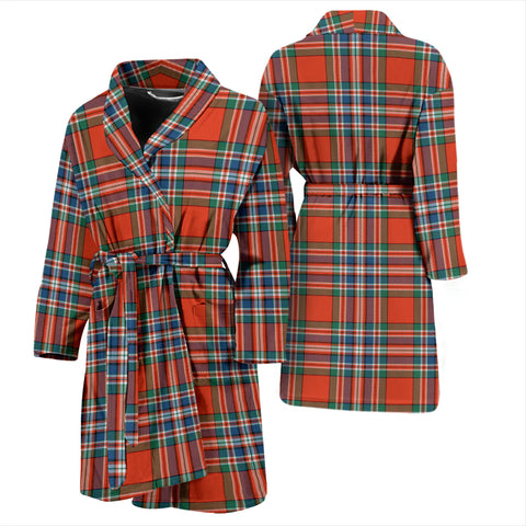 MacFarlane Ancient Tartan Mens Bathrobe - BN