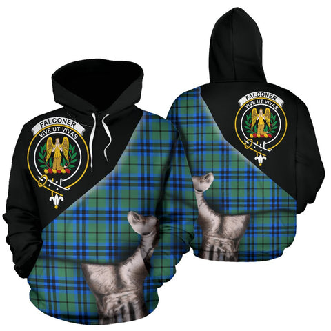 Image of Falconer Tartan Hoodie Patronage
