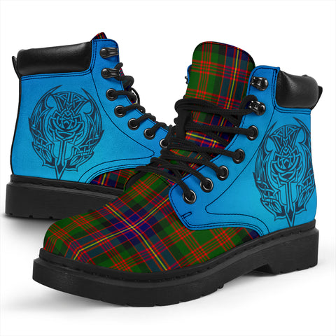 Cochrane Modern Tartan All-Season Boots - Celtic Thistle TH8