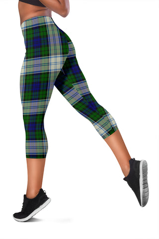 Blackwatch Dress Modern Tartan Capris Leggings