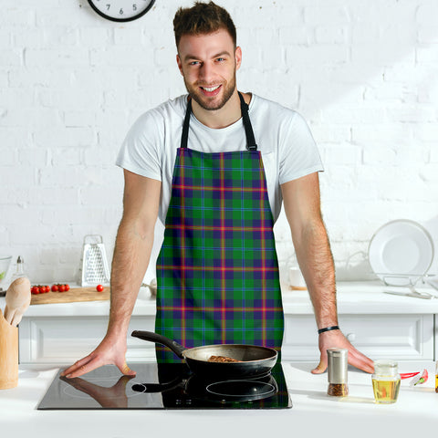 Image of Young Modern Tartan Apron HJ4