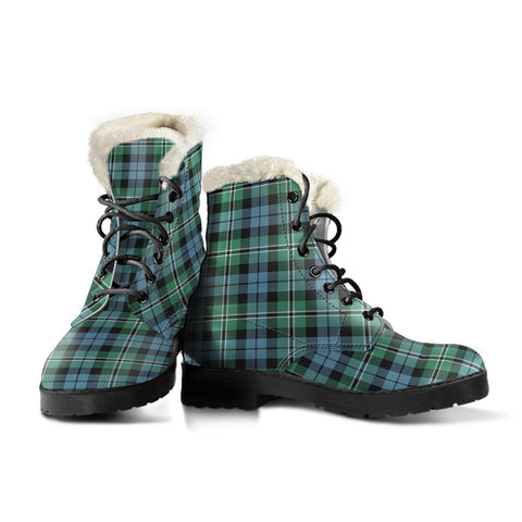 Image of Melville Tartan Boots For Women