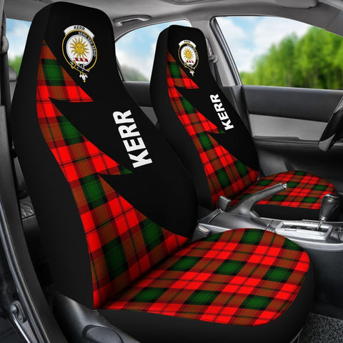 Image of Kerr Clans Tartan Car Seat Covers - Flash Style - BN