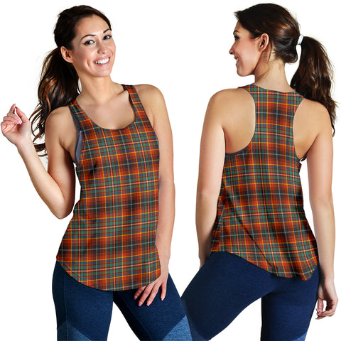 Image of Innes Ancient Tartan Women Racerback Tank