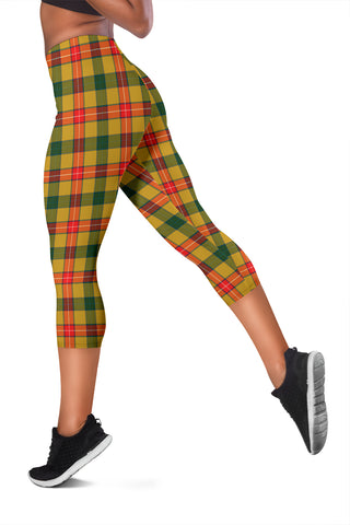 Image of Baxter Tartan Capris Leggings
