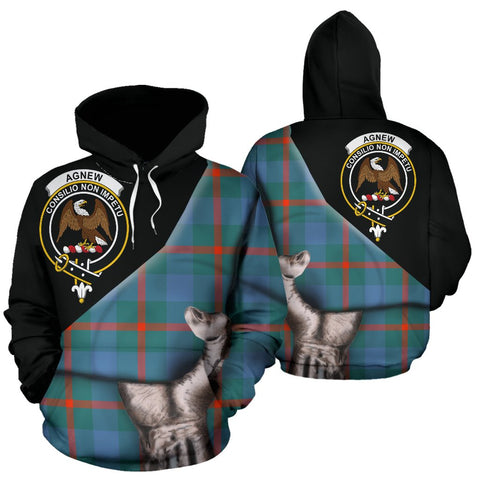 Image of Agnew Ancient Tartan Hoodie Patronage