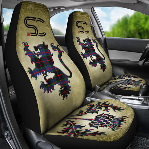 Nairn Tartan Car Seat Cover Lion and Thistle Special Style TH8
