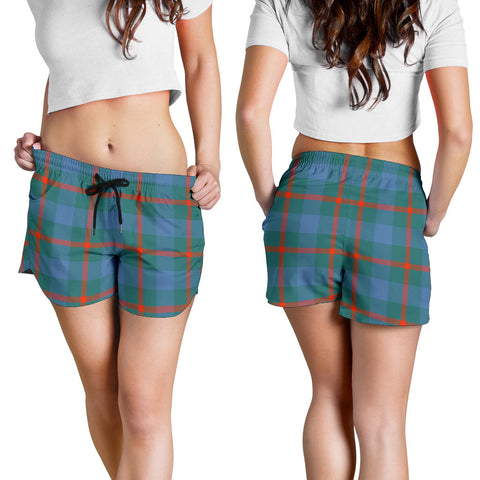 Agnew Ancient Tartan Shorts For Women
