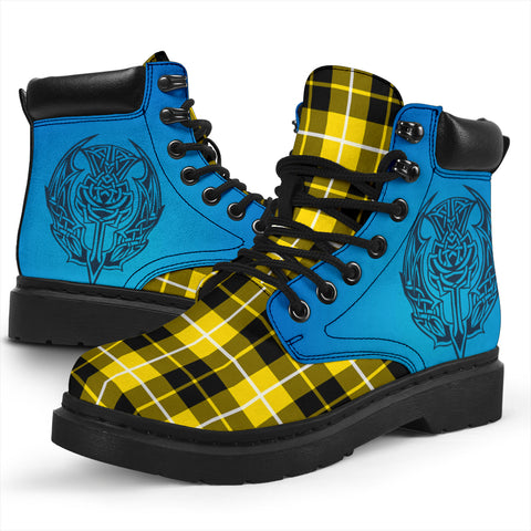 Image of Barclay Dress Modern Tartan All-Season Boots - Celtic Thistle TH8