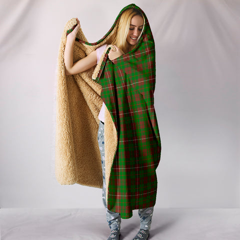 MacKinnon Hunting Modern, hooded blanket, tartan hooded blanket, Scots Tartan, Merry Christmas, cyber Monday, xmas, snow hooded blanket, Scotland tartan, woven blanket