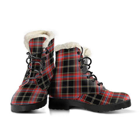 Norwegian Night Tartan Boots For Women
