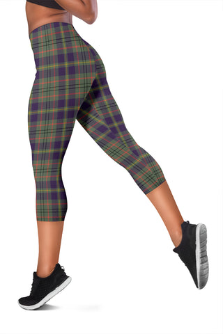 Taylor Weathered Tartan Capris Leggings