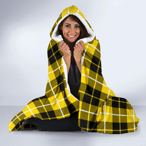 Barclay Clans Tartan Hooded Blanket - BN