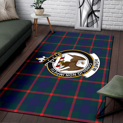 Agnew Clan Tartan Area Rug, Scottish Clans Tartan Area Rug, Scottish Rug, Scotland Area Rug