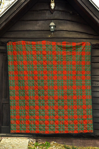 MacGregor Ancient Tartan Premium Quilt TH8