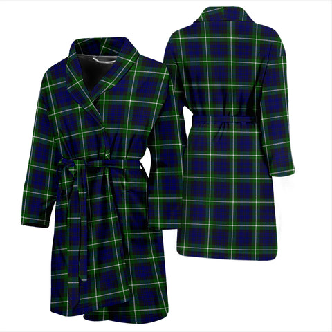 Image of Lamont Modern Tartan Mens Bathrobe - BN