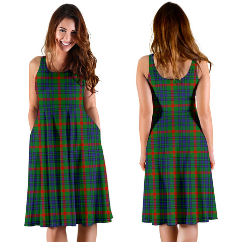 Aiton Plaid Women's Dress