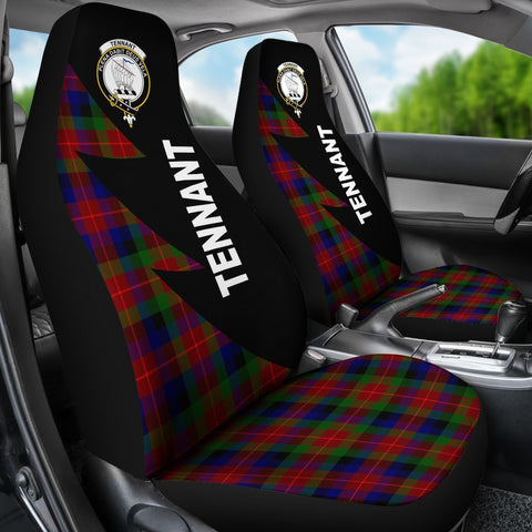 Tennant Clans Tartan Car Seat Covers - Flash Style - BN