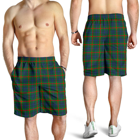 Aiton Tartan Shorts For Men