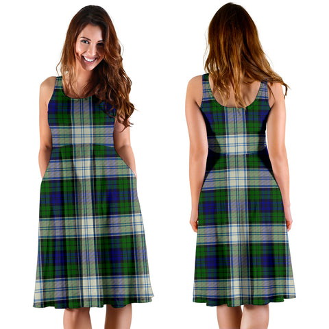 Blackwatch Dress Modern Plaid Women's Dress