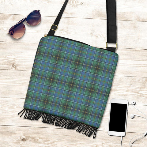 Image of MacInnes Ancient Tartan Boho Handbag K7