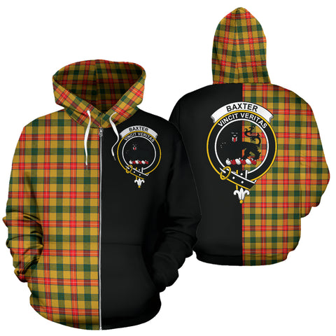 Image of Baxter Tartan Hoodie Half Of Me TH8