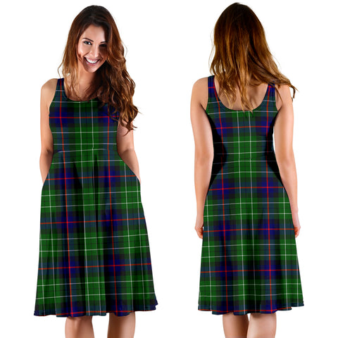 Image of Leslie Hunting Plaid Women's Dress