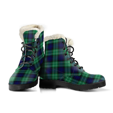 Abercrombie Tartan Boots For Women