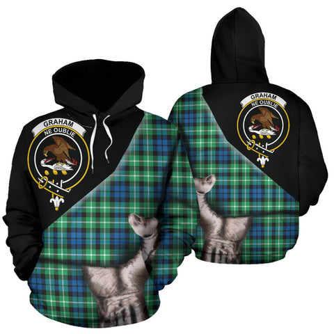 Graham of Montrose Ancient Tartan Hoodie Patronage