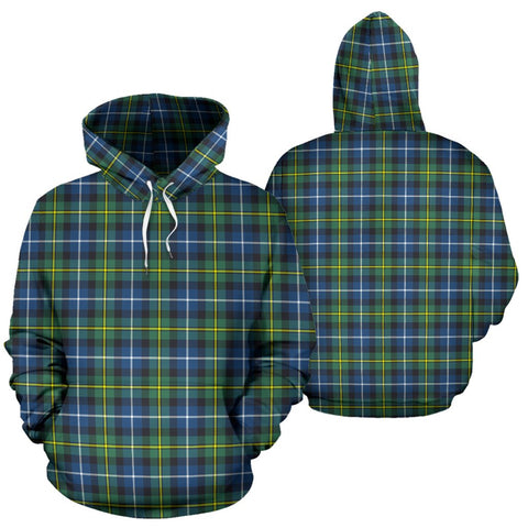 Macneill Of Barra Ancient Tartan Hoodie, Scottish Macneill Of Barra Ancient Plaid Pullover Hoodie