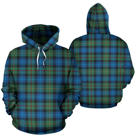 Smith Ancient Tartan Hoodie, Scottish Smith Ancient Plaid Pullover Hoodie