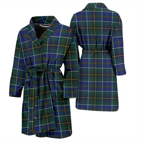 Image of MacInnes Modern Tartan Mens Bathrobe - BN